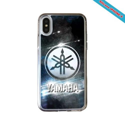 coque iphone x silicone yamaha