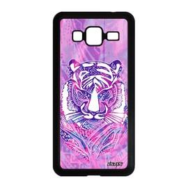 Coque silicone J3 2016 tigre felin fille animaux jungle original Samsung Galaxy J3 2016