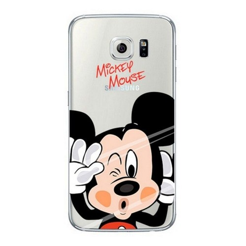 coque silicone transparente mickey mousse pour samsung galaxy s7 edge. Black Bedroom Furniture Sets. Home Design Ideas