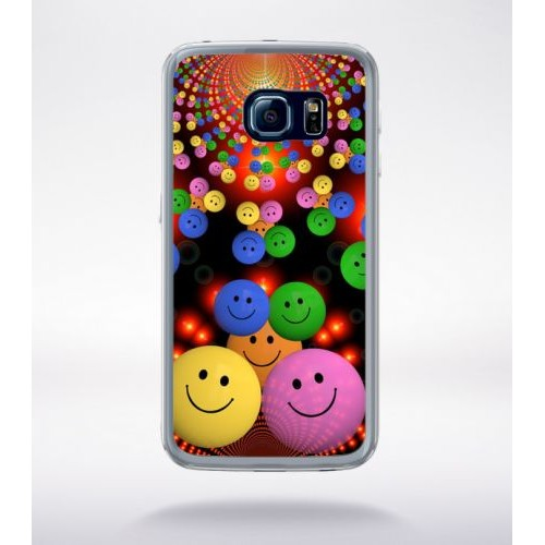 coque galaxy s6 smiley