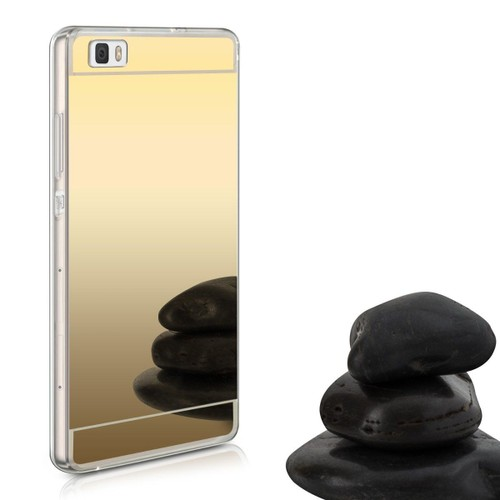 coque souple xperia m5 miroir or brillant bling dore gel. Black Bedroom Furniture Sets. Home Design Ideas
