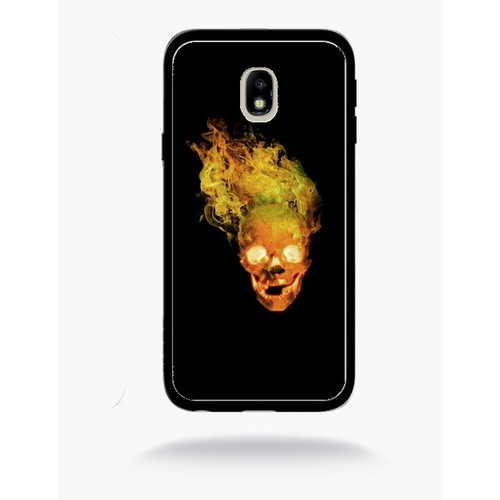 buy online 467db cee0c coque-tete-de-mort -enflamm-1-compatible-samsung-j3-2017-bord-noir-1229416176 L.jpg