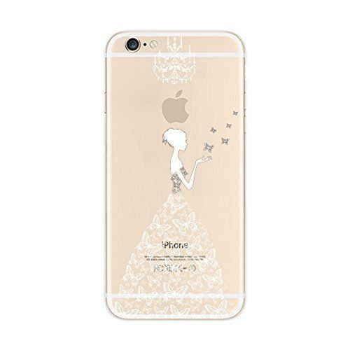 Iphone  Coque Transparente Motif