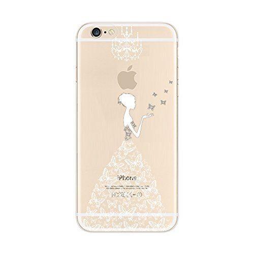 coque transparente iphone 6 avec motif
