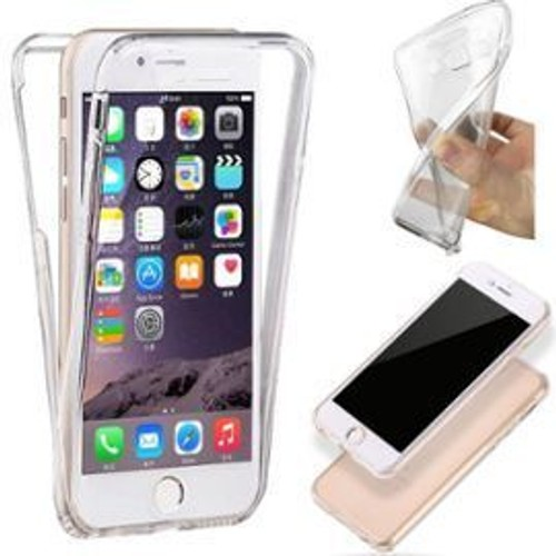 coque transparente silicone avant arriere pour iphone 6 6s pas cher. Black Bedroom Furniture Sets. Home Design Ideas