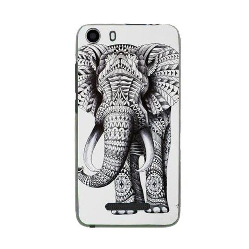 coque wiko lenny 2 protection verre tremp 9 h motif elephant azteque. Black Bedroom Furniture Sets. Home Design Ideas