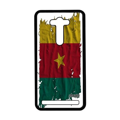Coque Zenfone 2 Laser Ze550kl Drapeau Cameroun Camerounais Republique Du De Asus