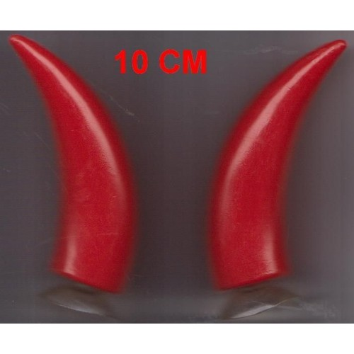 Cornes de diable ventouse 10 cm accessoires deguisement - Code promo vente du diable frais de port offert ...