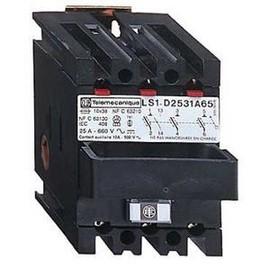 Corps de sectionneur fusible ls1 d2531a65 3p 25 a pour fusible nfc 10 x 38 mm - Le sectionneur porte fusible ...