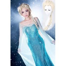 Costume adulte elsa perruque adulte clips des neiges tra ne d guisement de la reine des - Personnage de la reine des neiges ...