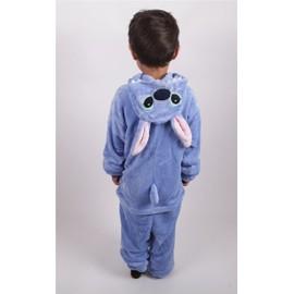 costume combinaison animal animaux stitch kigurumi pyjama onesie mignon kawaii mascotte peluche. Black Bedroom Furniture Sets. Home Design Ideas