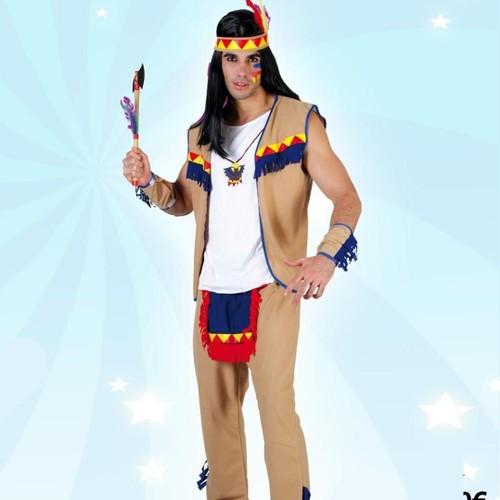 Costume Dindien Sioux Déguisement Adulte Achat Et Vente