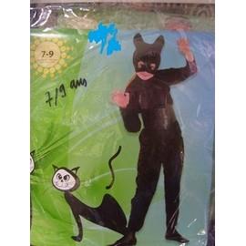 Costume Enfant Chat 7/9 Ans