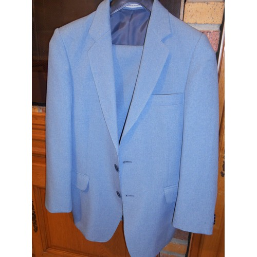 Ans 38 environ Bleu Costume Taille vestepantalon 1618 Gris 0w0qvO