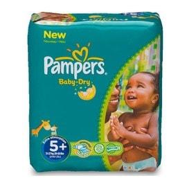 Petite annonce Couches Baby-Dry Taille 5 (13-27 Kg) - Pack Économique 132 Couches - 17000 LA ROCHELLE