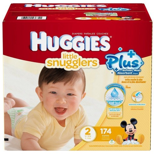 Couches Huggies Little Snugglers Taille 2 5 A 8kg 174 Couches