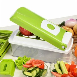 Coupe l gumes et fruits nicer dicer 12 accessoires pour l gumes et fruits cuisson outils - Nicer dicer coupe legumes ...