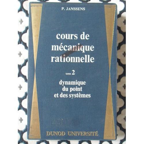 Cours De Mécanique Rationnelle