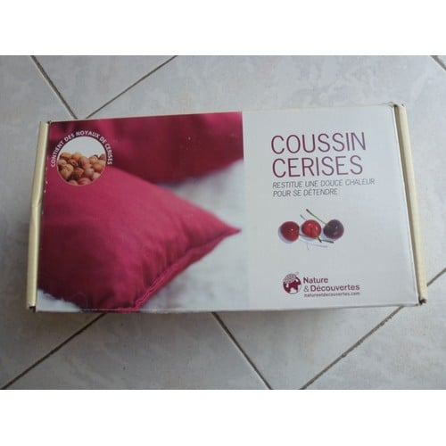 coussin cerises nature et decouvertes pas cher priceminister rakuten. Black Bedroom Furniture Sets. Home Design Ideas