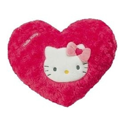 Coussin coeur hello kitty rose 35 cm achat et vente - Hello kitty coeur ...