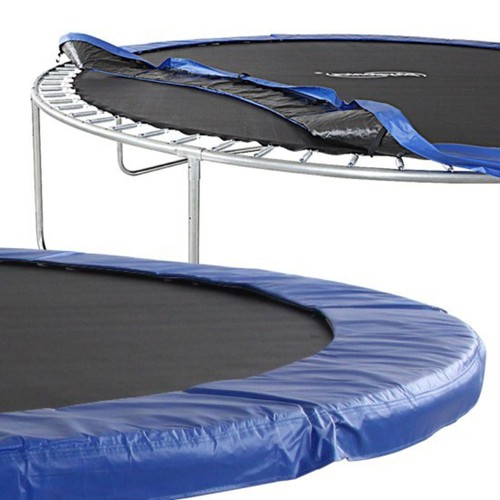 coussin de protection ressorts trampoline 400cm 22mm bleu. Black Bedroom Furniture Sets. Home Design Ideas