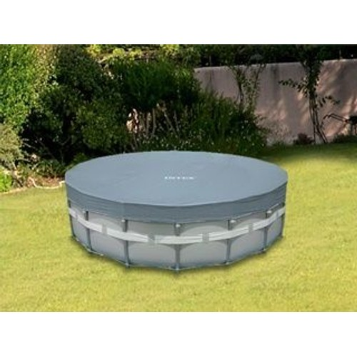 Couverture intex piscine hors sol ronde pas cher for Piscine hors sol intex 5 49