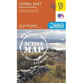 Cowal East Dunoon & Inveraray 1 : 25 000 de Ordnance Survey