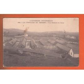 Cpa La Fontaine Du Berger Vue Generale Du Camp