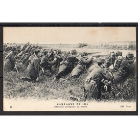 Cpa Militaria Guerre De 1914 Infanterie Fran�aise
