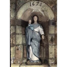 Cpsm - 56 - Josselin - La Vierge De La Fontaine - Notre-Dame Du Roncier -