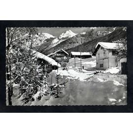 Cpsm - 74 - La Clusaz - Chalets Sous La Neige -