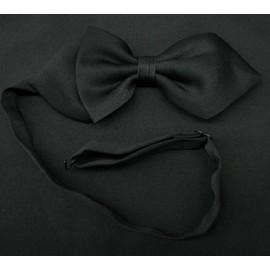 c45405d8cf2a3 Cravate Noeud Papillon Lavalière Largeur 12 Cm Taille Réglable Noir