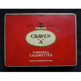 How much does a pack of cigarettes Craven A cost to make