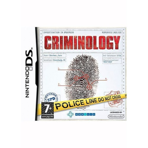 criminology achat vente de jeu nintendo ds. Black Bedroom Furniture Sets. Home Design Ideas