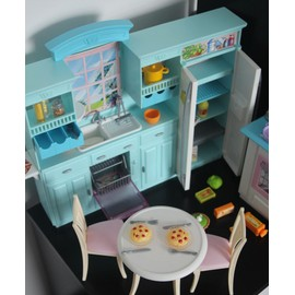 cuisine barbie quipe poupe barbie mattel