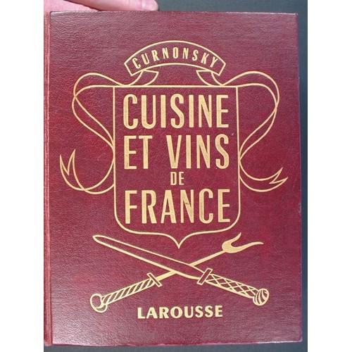 Cuisine et vins de france de curnonsky livre neuf occasion - Cuisine et vin de france ...