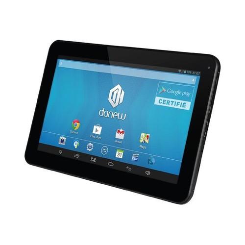 tablette danew dslide 1013 4 go 10 1 pouces noir pas cher. Black Bedroom Furniture Sets. Home Design Ideas