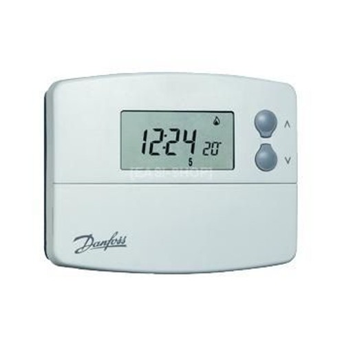 danfoss tp5001 thermostat d 39 ambiance horloge digitale pas cher. Black Bedroom Furniture Sets. Home Design Ideas
