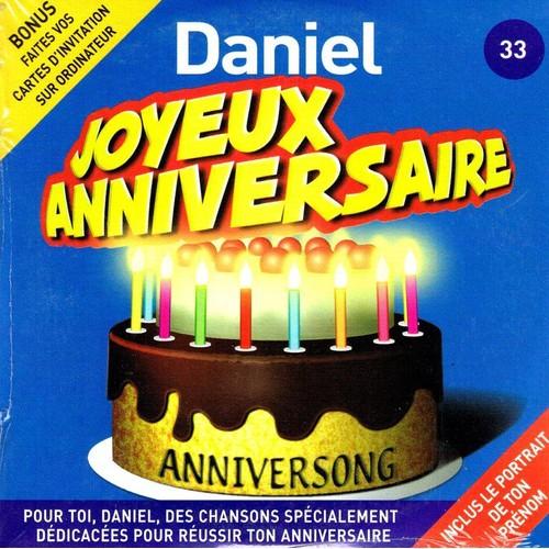 Daniel Joyeux Anniversaire Anniversong Cd Single Rakuten