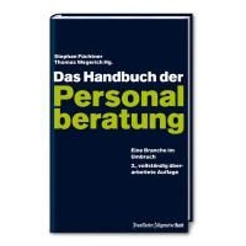 Das Handbuch Der Personalberatung De Stephan Fuchtner Livre 911690492_L