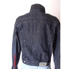 Ddp Hommet Black Vesteblouson Jeans Blue Shirtdbs Ws T146 EH9D2WI