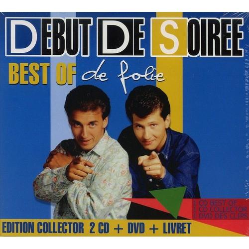 best of best of de folie edition collector digipak 2 cd dvd livret 12 pages 35. Black Bedroom Furniture Sets. Home Design Ideas