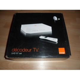 decodeur tv orange uhd 87 sat pas cher priceminister. Black Bedroom Furniture Sets. Home Design Ideas