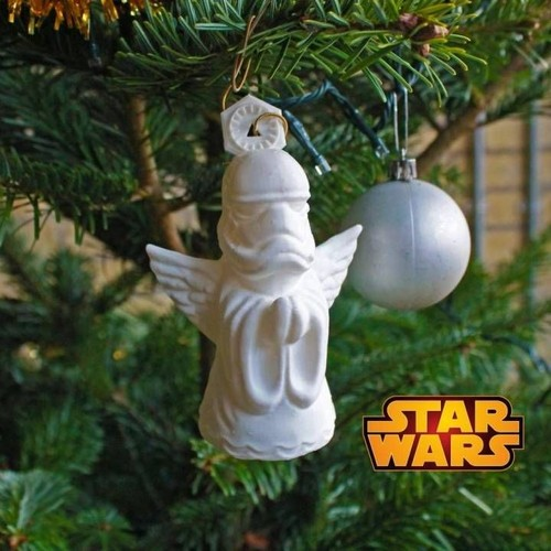 D coration no l stormtrooper ange pour sapin achat et vente - Ange sapin noel ...