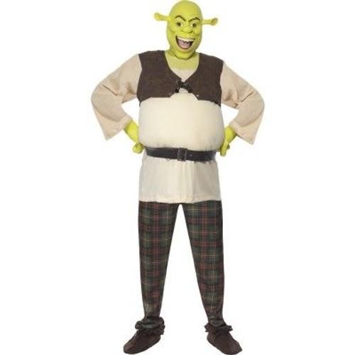 D guisement shrek adulte officiel costume monstre dessin anim homme f te luxe - Deguisement dessin anime fait maison ...