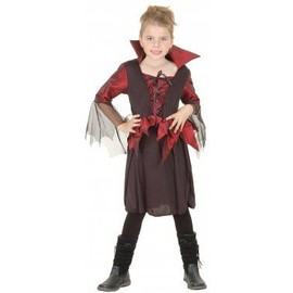 d guisement vampire fille halloween taille 10 12 ans l rakuten. Black Bedroom Furniture Sets. Home Design Ideas