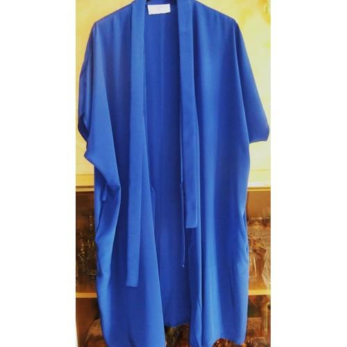D shabill femme kimono robe de chambre bleu taille 42 neyret - Robe de chambre canat femme ...