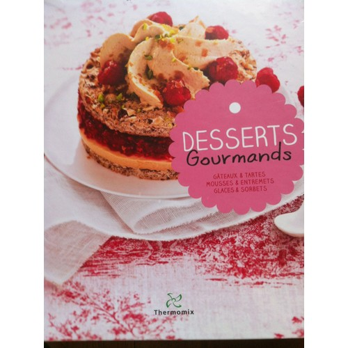desserts gourmands de thermomix achat vente neuf occasion