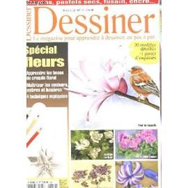 dessiner le magazine pour apprendre a dessiner en pas a pas n 12 special fleurs. Black Bedroom Furniture Sets. Home Design Ideas