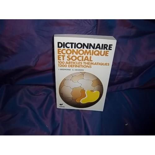 Dictionnaire economique et social de janine bremond - Psychiatre dijon avis ...